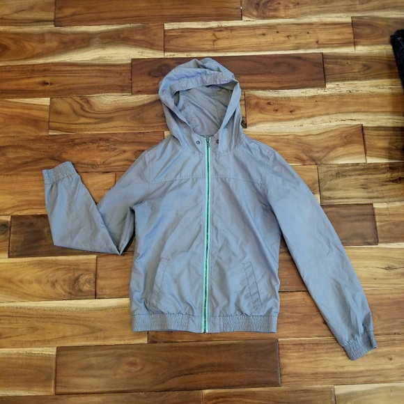 bc2dbbcc Zine Clothing Jackets & Coats   Zine Zip Up Wind Breaker Rain Jacket ...